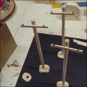 Making Telephone/power Poles