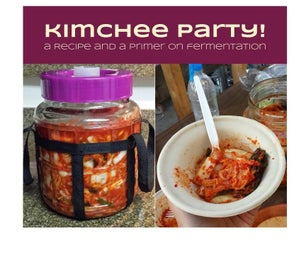 Kimchee Party! a Recipe and a Primer on Fermentation