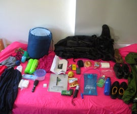 How to pack a pack.