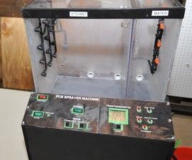 Printed Circuit Board (PCB) Sprayer Machine