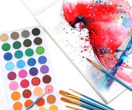 How to Make Homemade Watercolor Paint