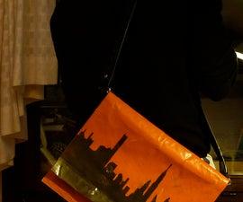 Storm-proof messenger bag