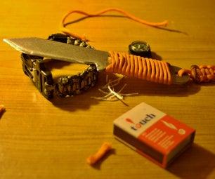 DIY Knife With a DIY PVC Sheath