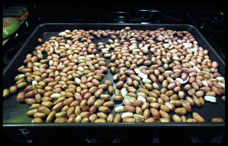 Prep and Roast Peanuts