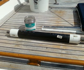 Activated carbon odor killer filter for RV's and boats