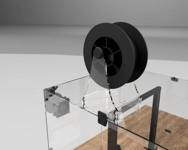 Acrylic Filament Spool Holder