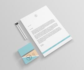 Personal Branding (logo, business card, letterhead, mockups)