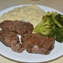 The Most Amazing Venison Steaks
