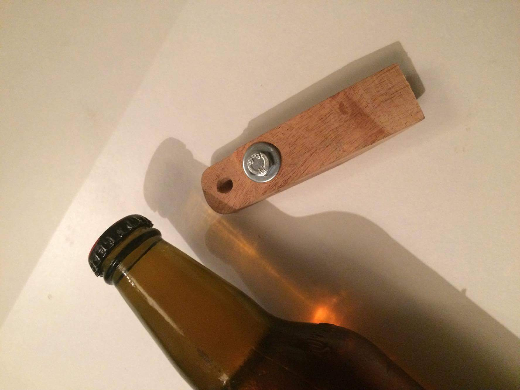 Picture of Rustic Pallet Bottle Opener