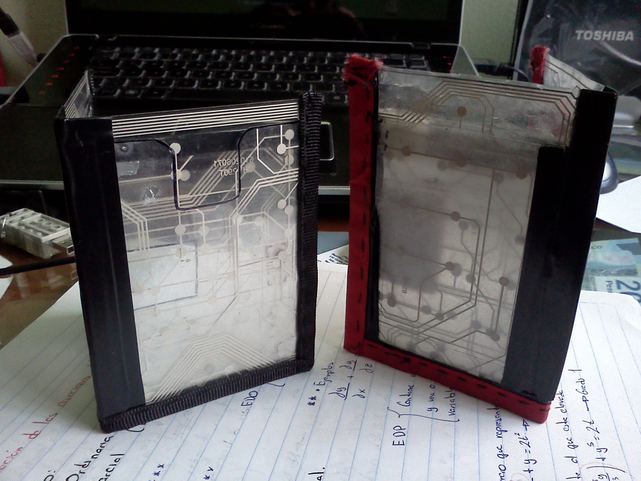 Picture of Keyboard Wallet With Magnetic Closure