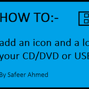 How to add custom icon and long name to your CD/DVD or USB flash drive