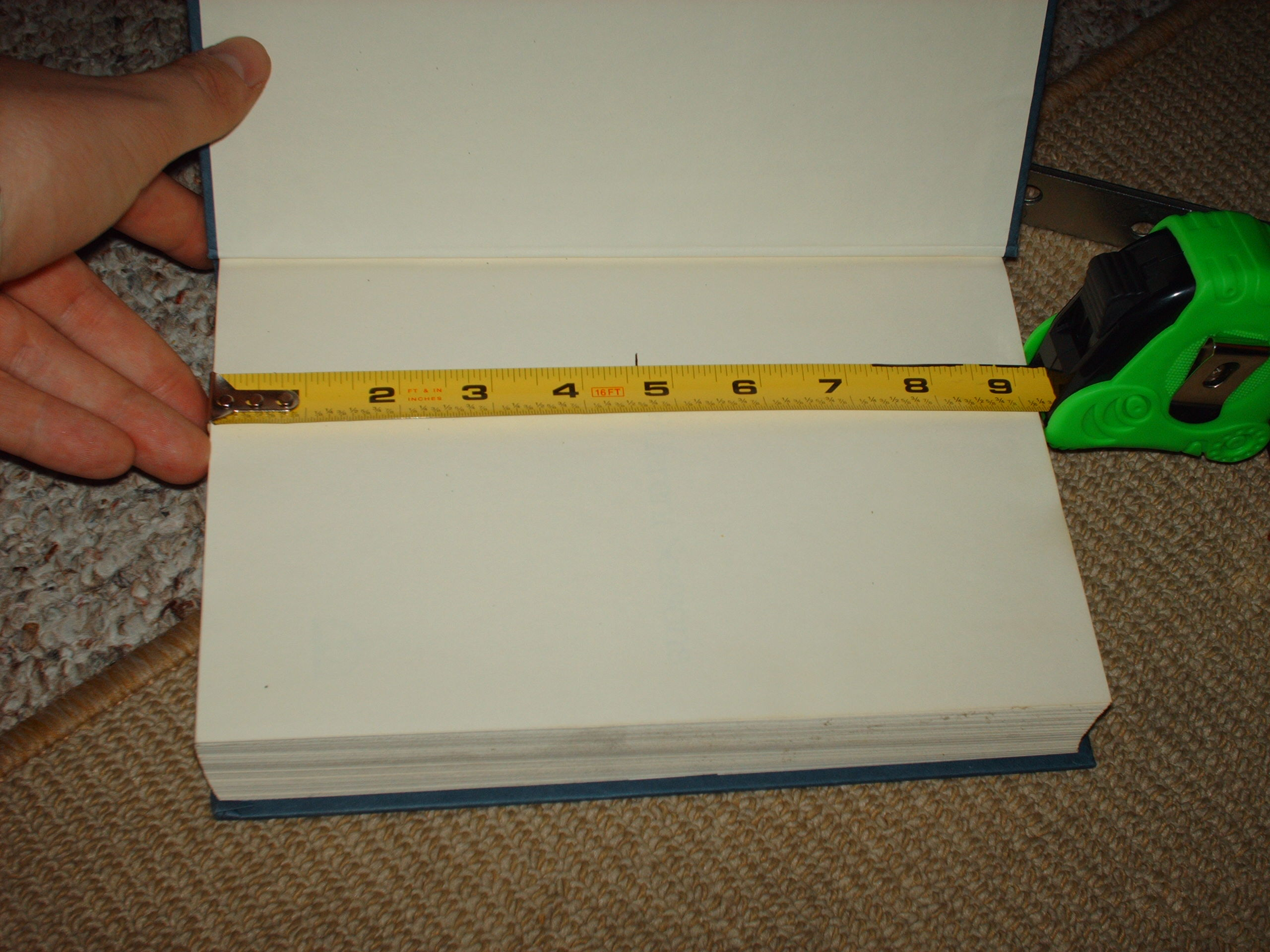 Picture of Measure Twice, Cut Once.