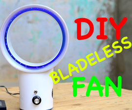 DIY Bladeless Fan From Scratch