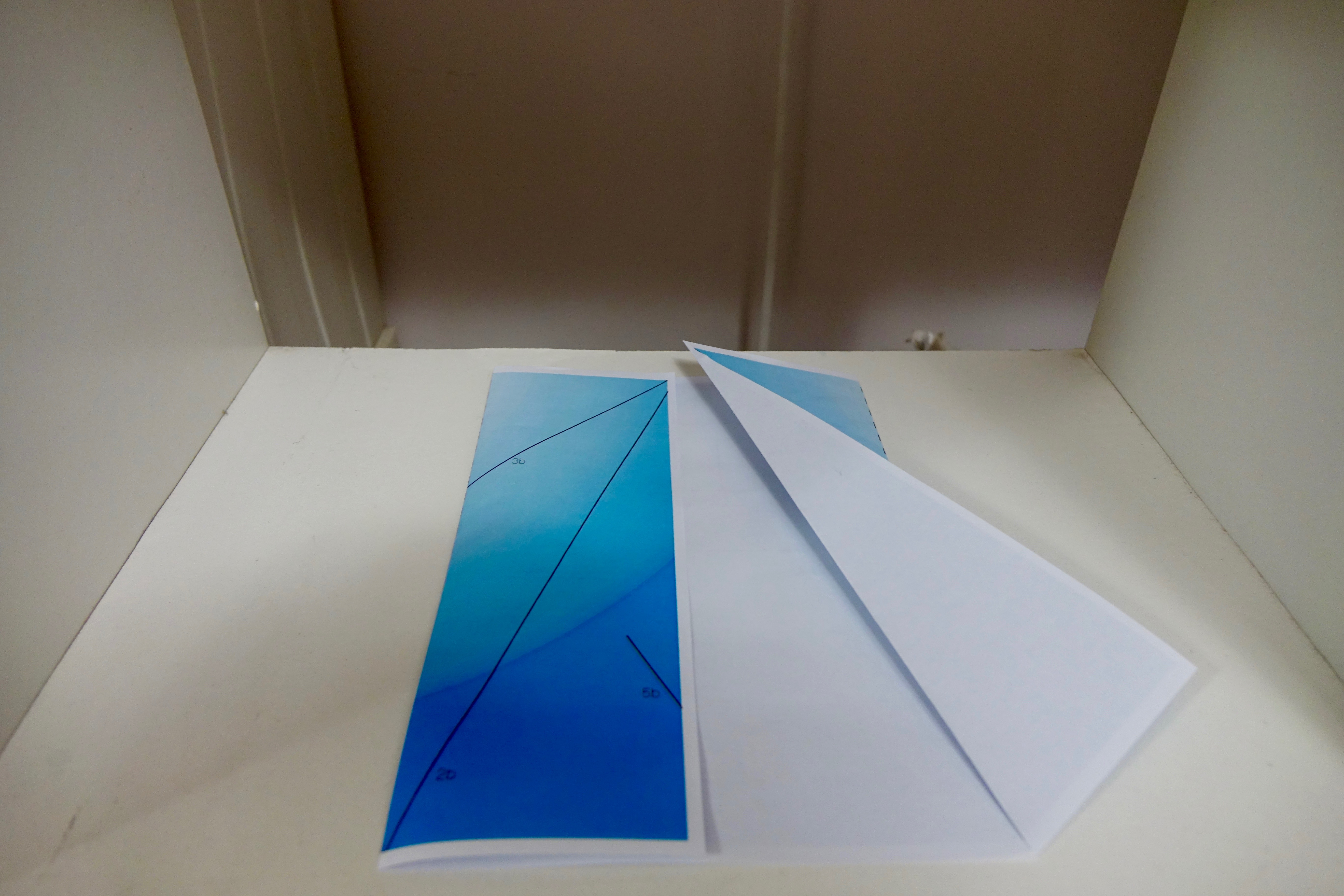 Picture of Fold Lines 2a & 2b