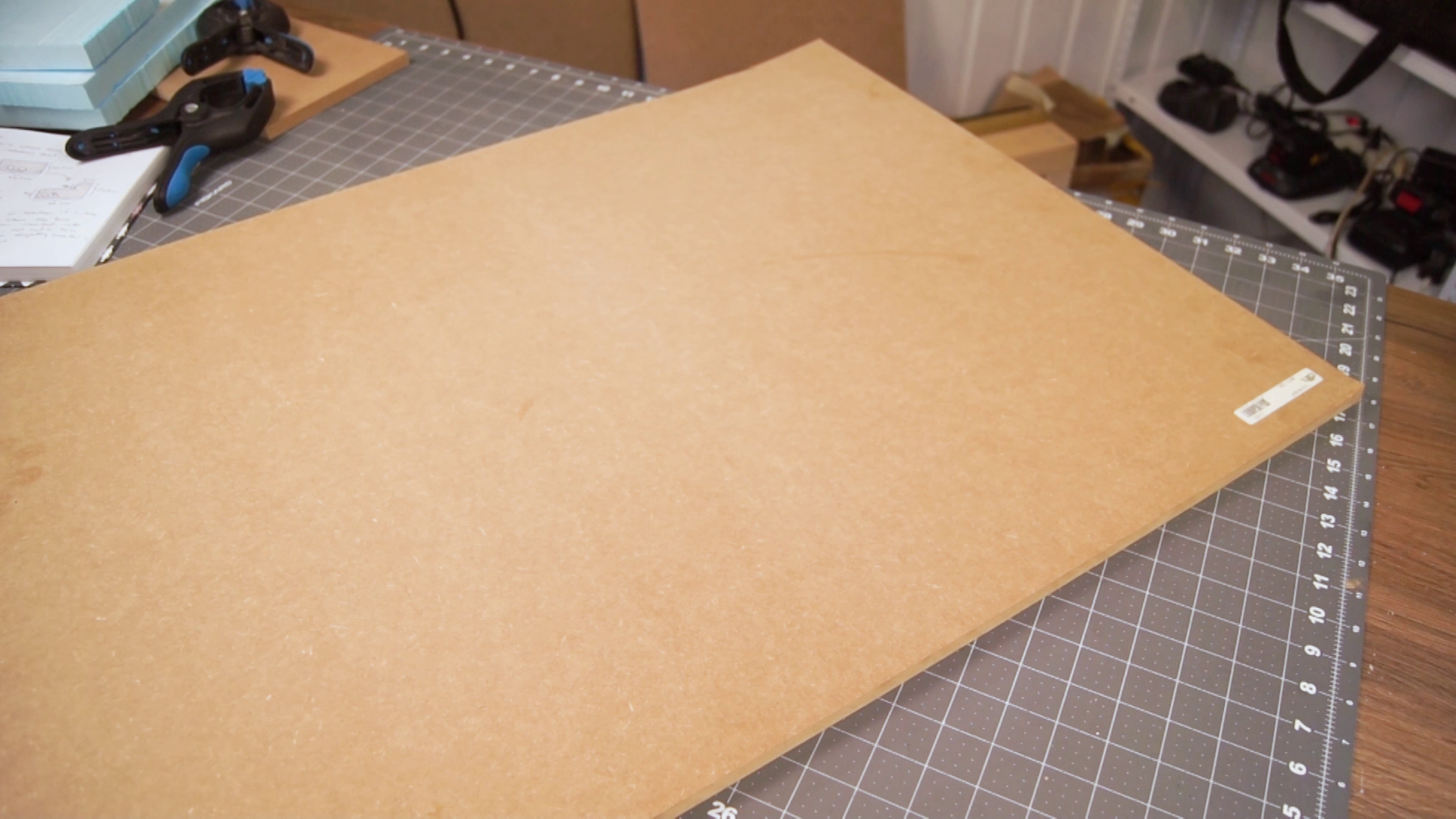 Picture of Cutting the MDF Bottom Piece