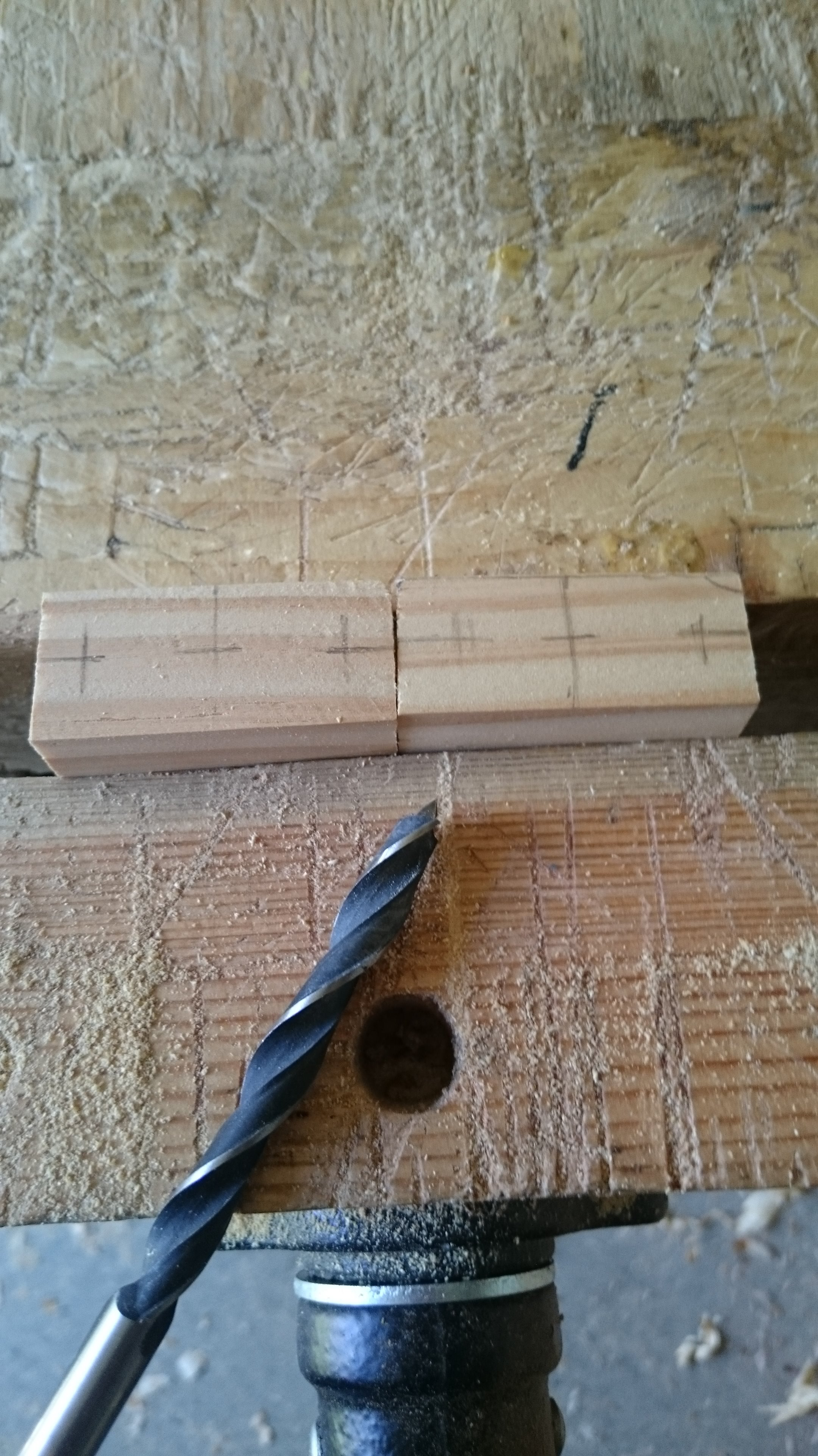 Picture of Making the Latch Pivot Points