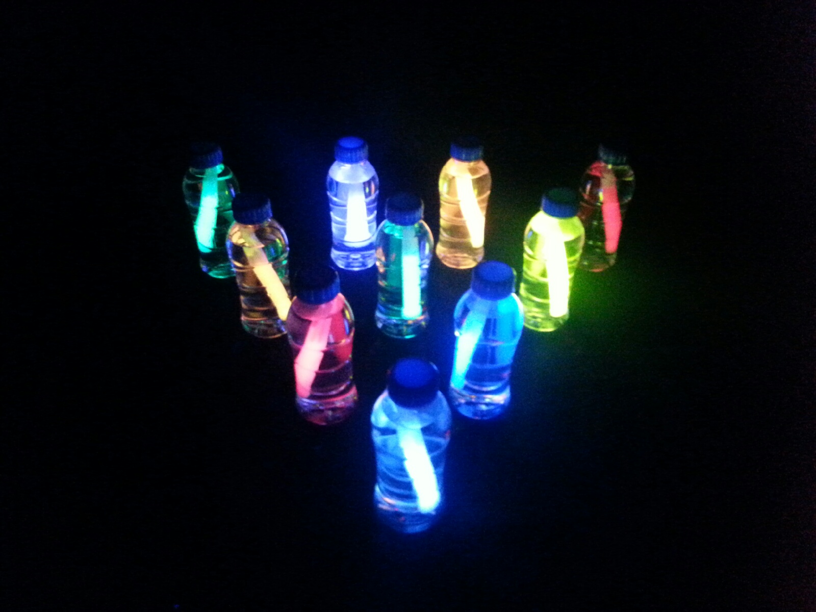 Picture of Glow Stick Water Lantern Bowling