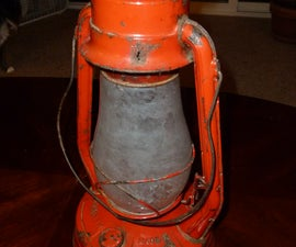 Retrofit an Antique Miner's Lantern with RGB LED's