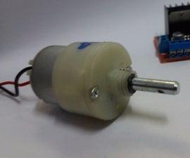 Control  A DC Mototr Using H-Bridge