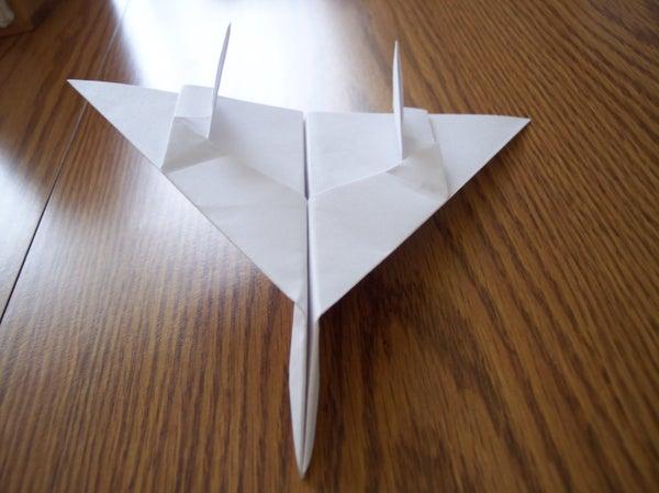 F-14 Tomcat Paper Airplane