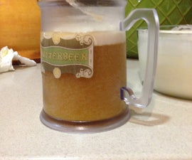 Butterbeer inspired by harry potter