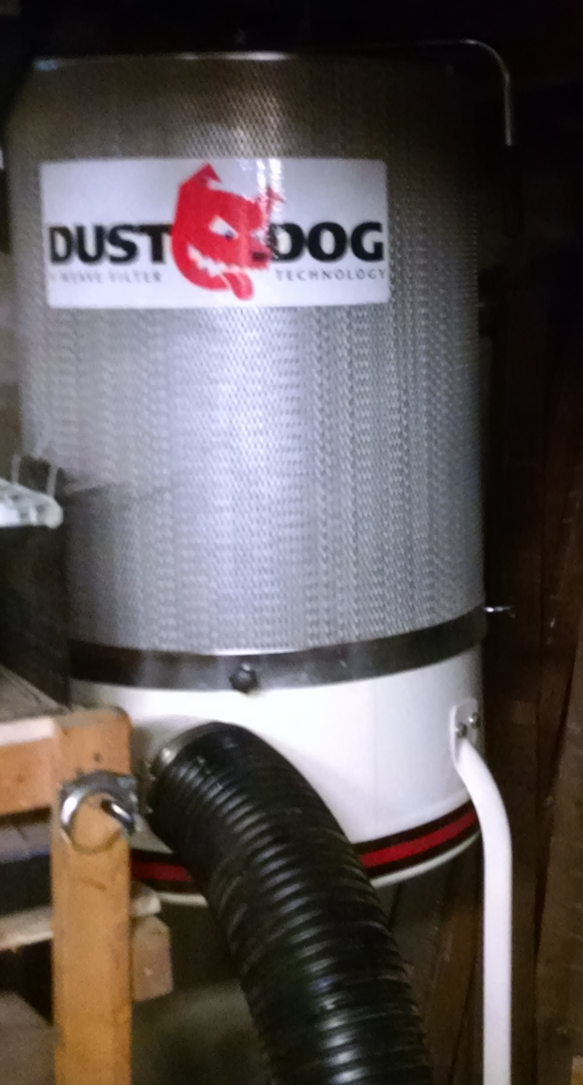 Picture of Dust Collector WOK! - Baffle / Vortex Cone and Table Saw Collection