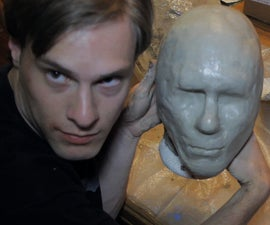 Latex Mask Part 1: Head Mold and Clay Sculpt