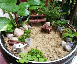 DIY Miniature Garden