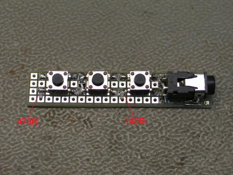 Picture of Resistors Soldering