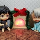 LED Miniature Nendoroid Fireplace