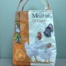 EASY Chicken Feed Bag Tote /Purse. Big sellers at Farmer's markets! Upcycle to awesome for Spring and!!