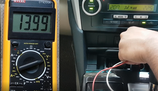 Checking the Power Output From the Car
