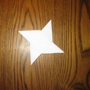 The Easiest Way To Make A Paper Ninja Star
