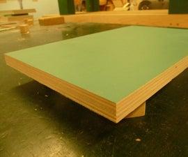 Painting Raw Wood