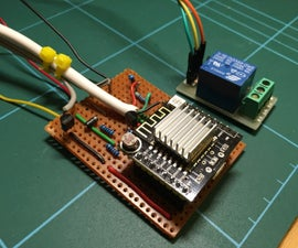Using an esp8266 arduino to control a relay using home-assistant