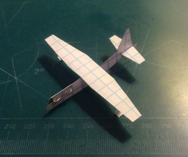 How to Make the Lockheed C-130 Hercules Paper Airplane
