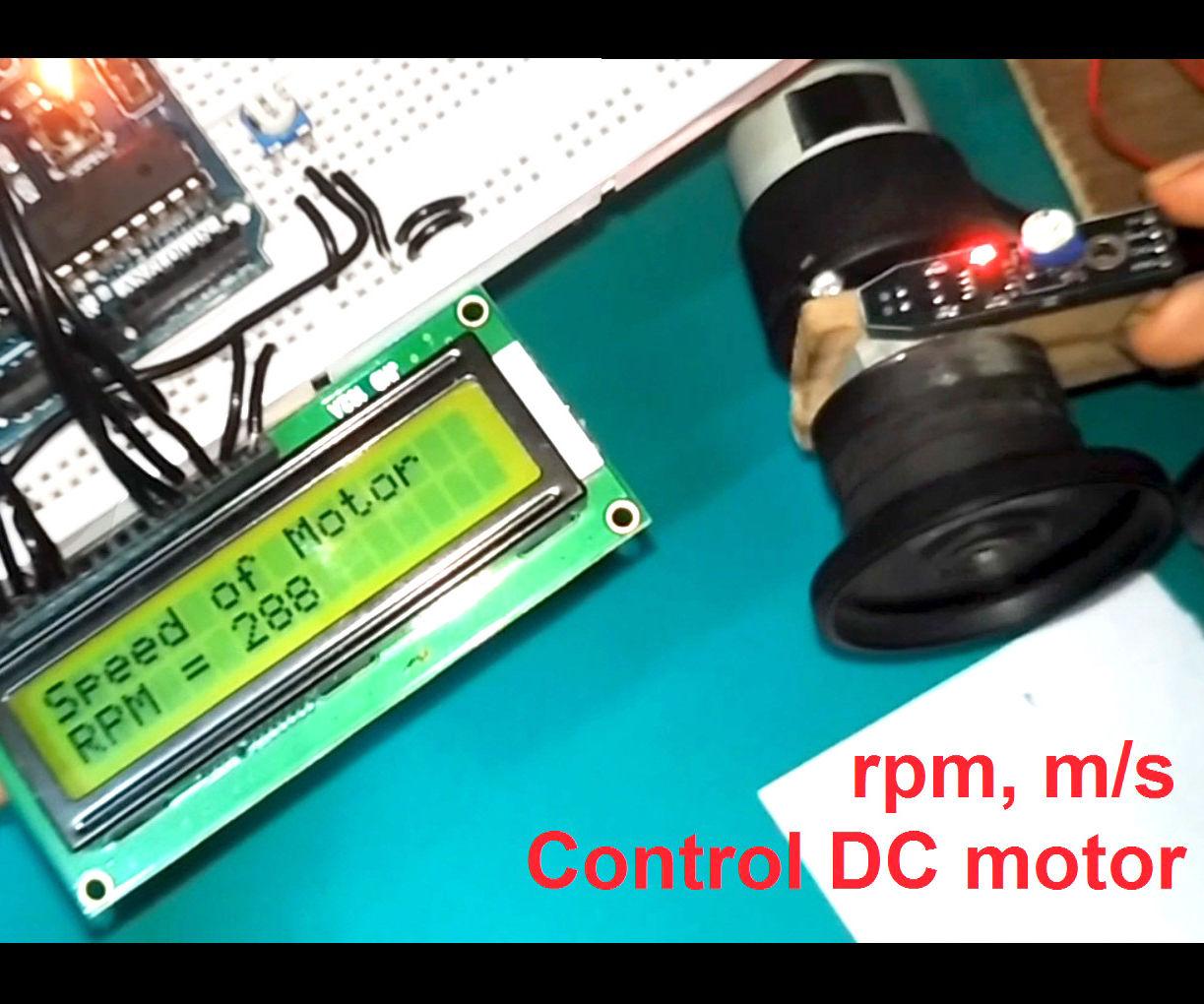 Motor Speed Tester Using Arduino & IR Sensor: 6 Steps