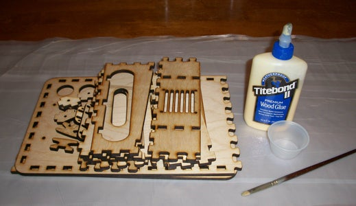 Get Your Pile O' Parts Together, and Glue the PiPlate