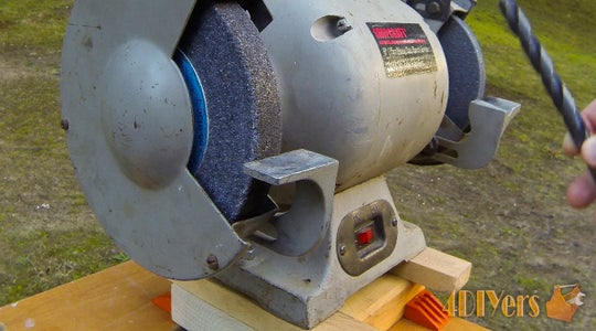 How to Sharpen a Drill Bit