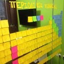 Homemade Post-It Periodic Table