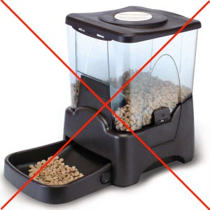 A Chinese Pet Feeder Which Is NOT Reliable