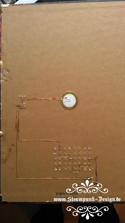 Picture of Second Protection: Picaxe Knocking Code and Final Wiring