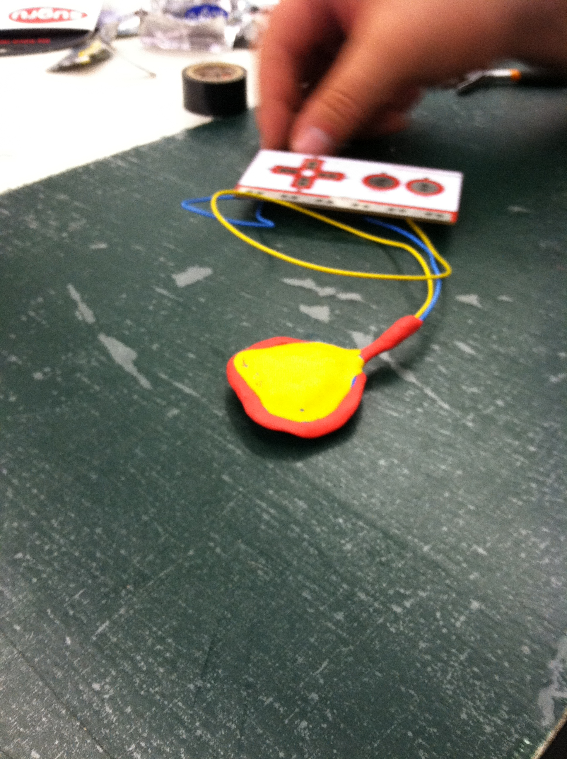 Picture of Sugru Air-Gap Makey-Makey Buttons