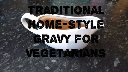 Traditional-style Brown Gravy for Vegetarians