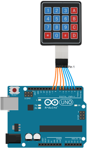 Attach 4×4 Keypad on Arduino Leonardo Board With Wires ( Make Sure You Insert in the Exact Same Spot)