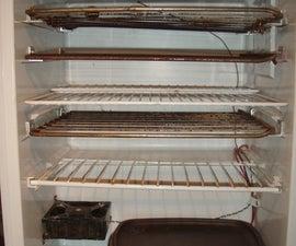 Make a dehydrator from a dorm fridge