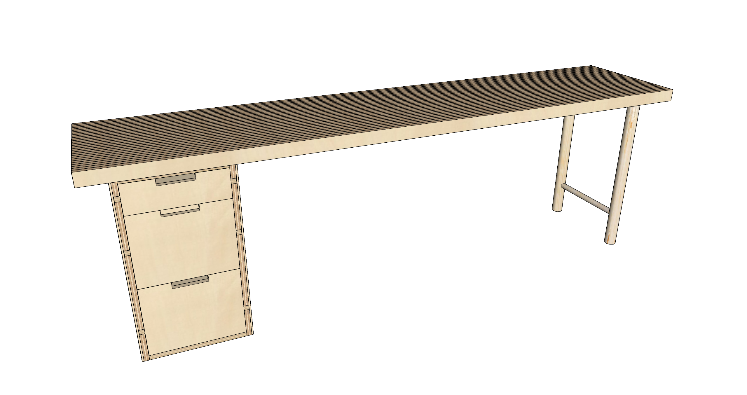 Picture of How to Make a Plywood Desk With Minimal Tools