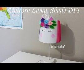Unicorn Lamp Shade DIY