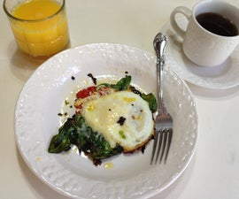 Morning Protein with Eggs and Spinach