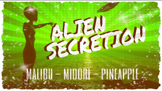 HOW TO MAKE AN ALIEN SECRETION COCKTAIL